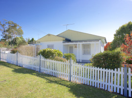 Complete with white picket fence !